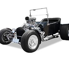 Hotrod - Custom Built Rat Rod by axemangraphics