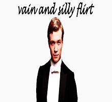 Vain and Silly Flirt (Black Text) Unisex T-Shirt