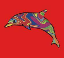 Dolphin One Piece - Long Sleeve