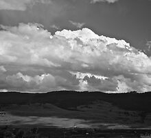 Clouds Over The Foothill by Andrew Lapierre