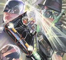Batman and Robin Vs. Green Hornet and Kato by 108dragons