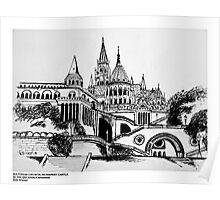 Matthias church, Budapest Castle Poster