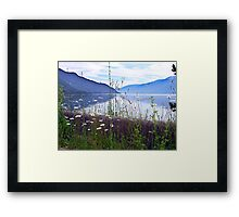 Kootenay Lake Framed Print