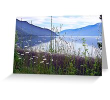 Kootenay Lake Greeting Card