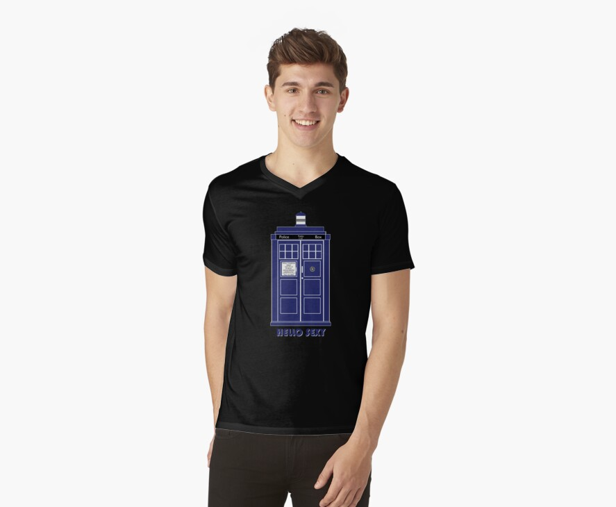 Hello Sexy (TARDIS) by Anglofile