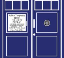 Hello Sexy (TARDIS) Sticker