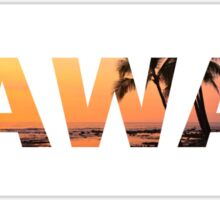 HAWAII landscape  Sticker