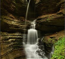 haws creek falls by kirby anderson