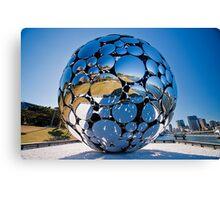 Golden Casket Light Sphere, Brisbane Festival 2011 (3 of 11) copy Canvas Print