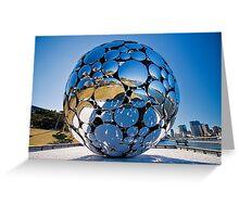 Golden Casket Light Sphere, Brisbane Festival 2011 (3 of 11) copy Greeting Card