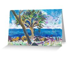 Bargara Greeting Card