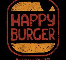 Happy Burger by Brandon Wilhelm