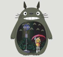 My Neighbour Totoro - Rain by PinkiexDash