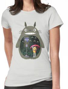 My Neighbour Totoro - Rain Womens Fitted T-Shirt