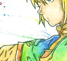 """""""So far, but so close"""". Character """"Link"""", from the videogame """"The Legend of Zelda"""" by Nintendo. Sticker"""