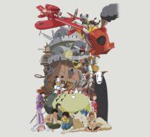 Studio Ghibli Characters by PinkiexDash