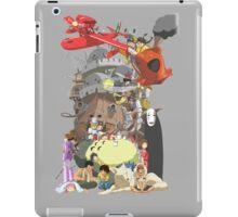 Studio Ghibli Characters iPad Case/Skin