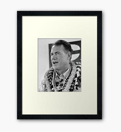 Congressman Ed Case(D) Framed Print
