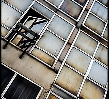 Decayed Glass Panes by Michel Godts