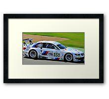 No 55 BMW Motorsport Framed Print