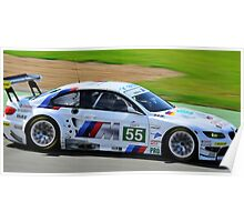 No 55 BMW Motorsport Poster