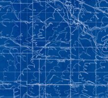 USGS Topo Map Oregon Tangent 282190 1911 31680 Inverted Sticker