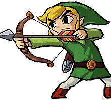 Toon Link by Volc4no