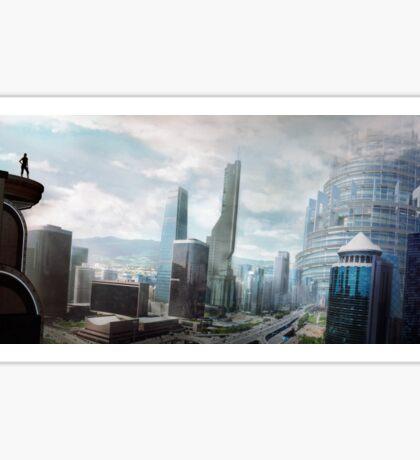 City of the Future Sticker