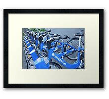On yer bike Mike Framed Print