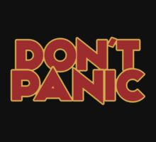 Dont Panic - The Hitchhiker's Guide to the Galaxy One Piece - Short Sleeve