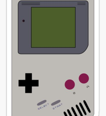 GAME BOY Sticker