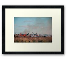 Destruction Framed Print