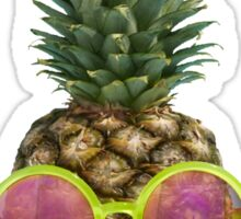 Cool Pineapple Sticker Sticker