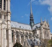 Notre Dame cathedral, Paris Sticker