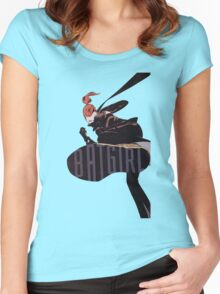 BG: Y1 Women's Fitted Scoop T-Shirt