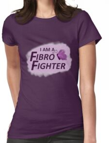 I am a Fibro Fighter! Womens Fitted T-Shirt