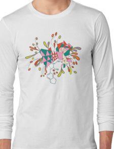 psychedelic mandala Long Sleeve T-Shirt