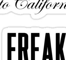 Lana Del Rey Freak Sticker