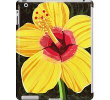 Hibiscus rosa-sinensis iPad Case/Skin