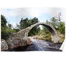 The Coffin Bridge, Scotland Poster