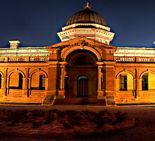 Colonial Justice - Goulburn Courthouse c1887 -The HDR Experience by Philip Johnson