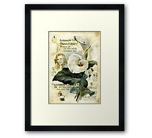 The Calla Lilies Are in Bloom Again Framed Print