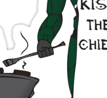 Kiss The Chief Sticker