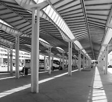 Bus Station at Castellon, Spain by vivsworld