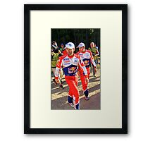 Sebastien Loeb Framed Print