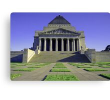Shrine of Rememberance Canvas Print