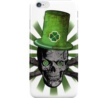 Patrick's Day Skull iPhone Case/Skin