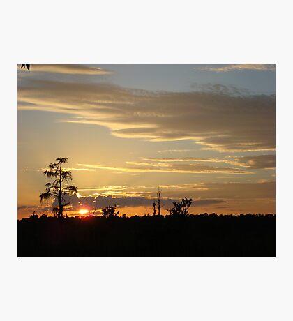 Beautiful October Sunset 2015 Photographic Print