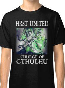 Cthulhu Magic Tentacle Girl Classic T-Shirt