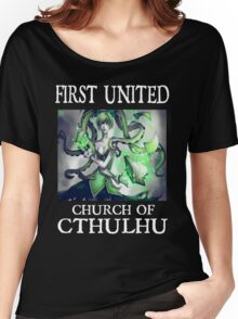 Cthulhu Magic Tentacle Girl Women's Relaxed Fit T-Shirt